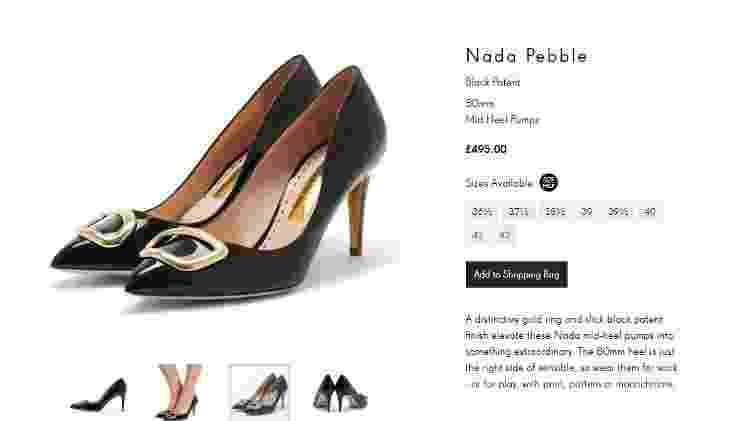 Sapato Kate - Reprodução - Reprodução
