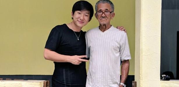 2bfe62c20 Pyong Lee visita Nilson Izaías e ajuda
