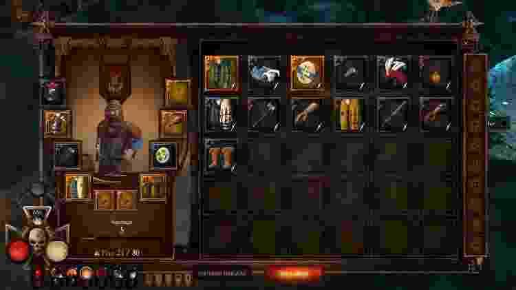 Doe os itens inúteis para a guilda em troca de reputação. - Reprodução