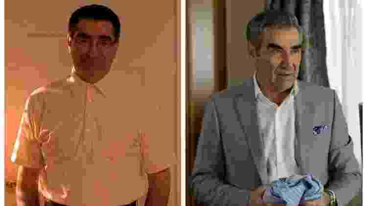 Eugene Levy em American Pie e Schitt's Creek - Fotos: Divulgação/Montagem: UOL - Fotos: Divulgação/Montagem: UOL