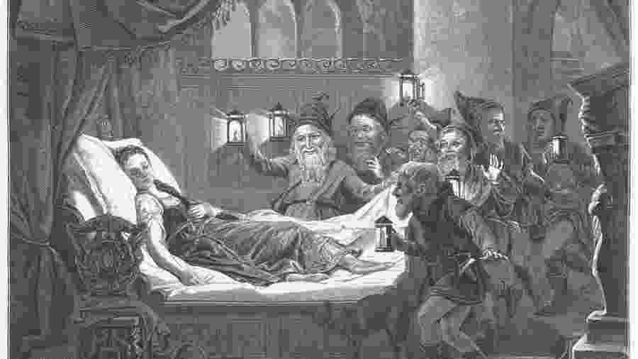 Baronesa Maria Sophia von Erthal teria inspirado conto de fadas escrito por Jacob e Wilhelm Grimm em 1812 - Getty/BBC