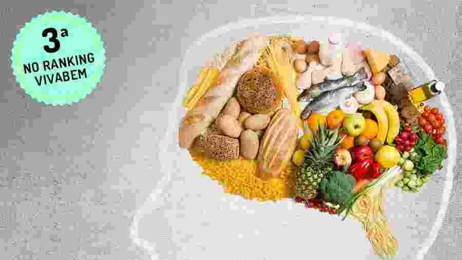 Dieta Mind une a mediterrânea e a Dash para proteger saúde mental - iStock / Arte UOL