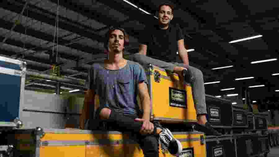 Gabriel David e Bernardo Coutinho são os jovens do Carnaval do Rio - Ricardo Borges/UOL