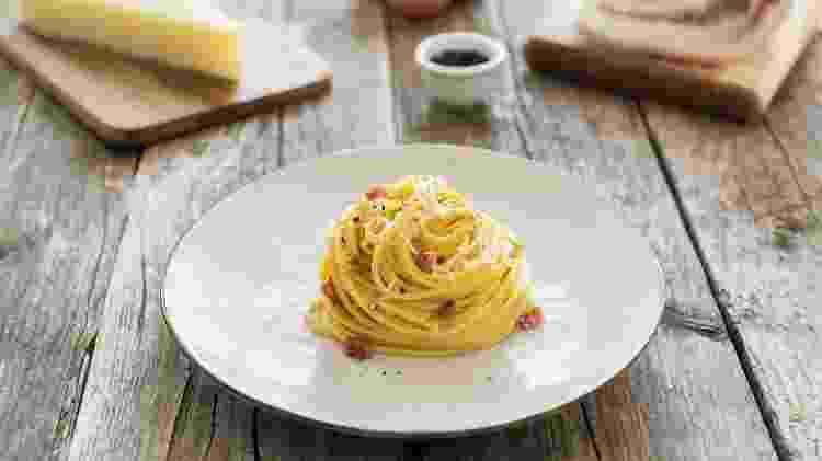 Spaghetti alla Carbonara - Divulgação - Divulgação