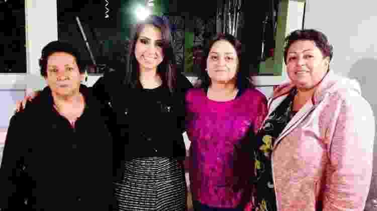 Amanda Lima de Castro e família - Arquivo pessoal - Arquivo pessoal