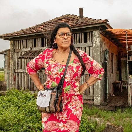Lurdes ( Regina Casé ) em Amor de Mãe - VICTOR POLLAK/Rede Globo
