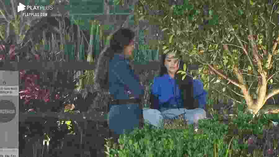 A Fazenda 2020: Luiza Ambiel reclama de Raissa Barbosa - Reprodução/Playplus