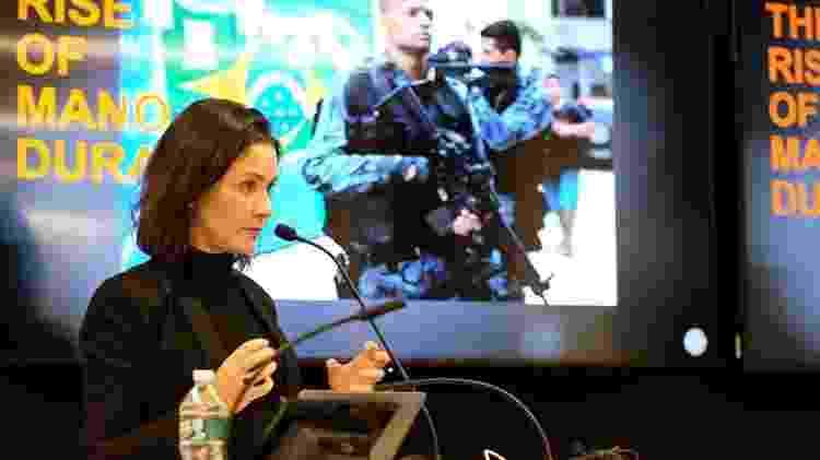 Ilona no Brazil Lab Colloquium - Reprodução/Instagram - Reprodução/Instagram