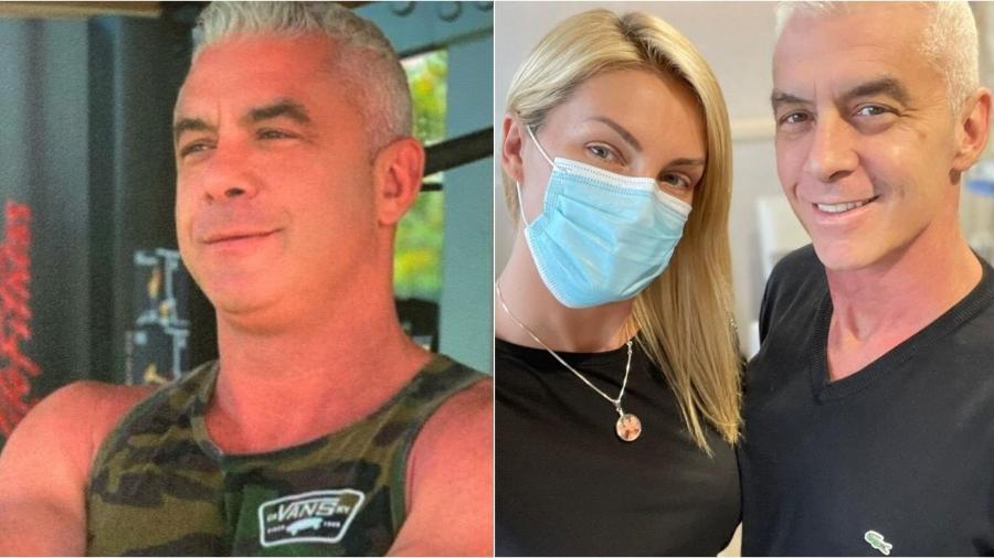 Alexandre Correa faz um tratamento contra um câncer na garganta - Reprodução/Instagram
