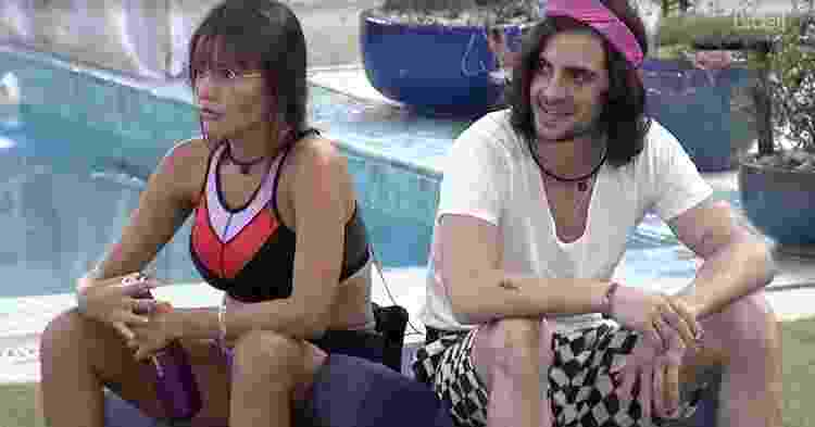 Thaís e Fiuk no 'BBB 21' - Reprodução/ Globoplay - Reprodução/ Globoplay