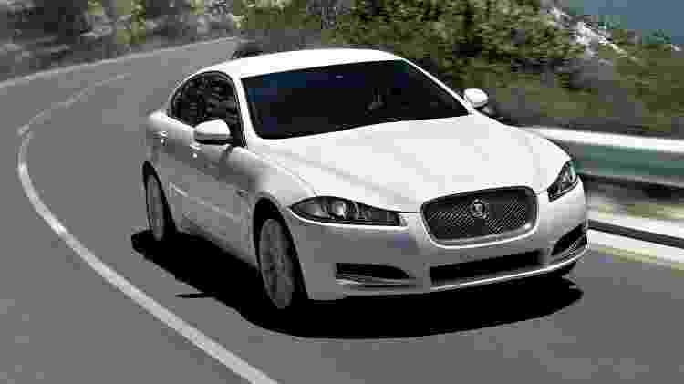 Jaguar XF 2012 - Divulgação - Divulgação