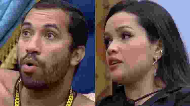 BBB 21: Gilberto e Juliette conversam sobre cinema do líder - Reprodução/Globoplay - Reprodução/Globoplay