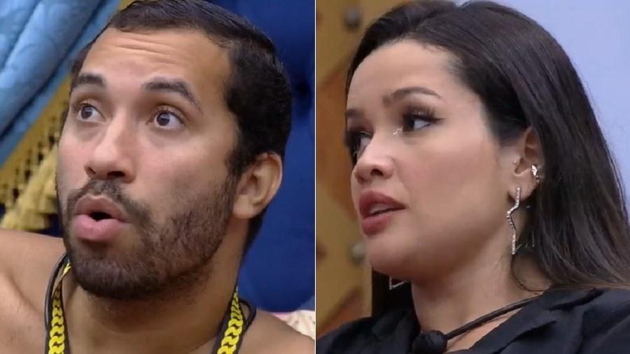 BBB 21: Gilberto e Juliette conversam sobre cinema do líder - Reprodução/Globoplay