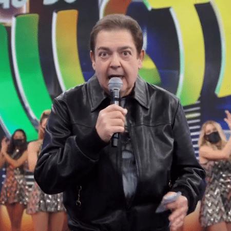 """Faustão apresenta do """"Domingão do Faustão"""" - Reprodução/Globoplay"""