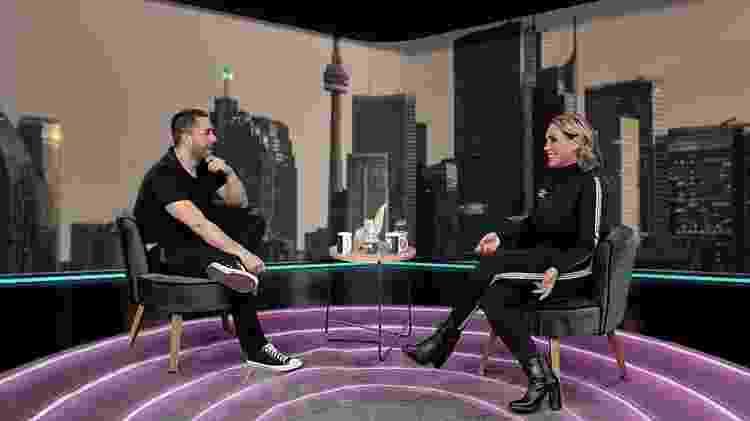 Renata Banhara relembra cantada de Ricky Martin - Reprodução/RedeTV! - Reprodução/RedeTV!