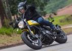 Ducati Scrambler Icon tem essência da motocicleta clássica, mas é cara (Foto: Doni Castilho/Infomoto)