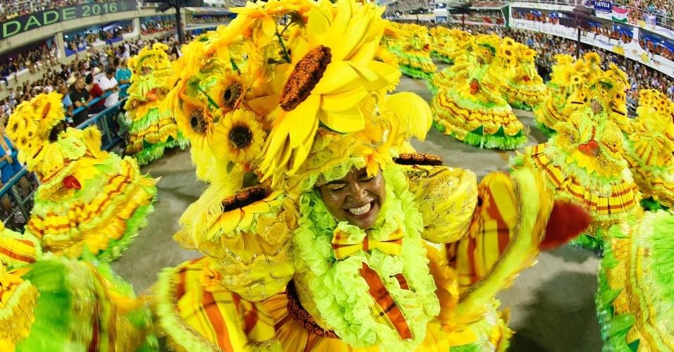 9.fev.2016 - Ala de Imperatriz celebra a agricultura
