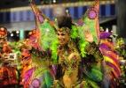 Mocidade Alegre homenageia o centenário do samba no desfile das campeãs - Junior Lago/UOL
