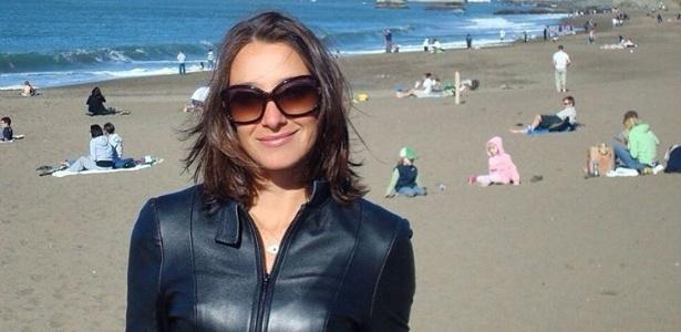 Sabrina Parlatore durante viagem nos Estados Unidos, em abril deste ano - Reprodução/Instagram/sabrinaparlaoficial