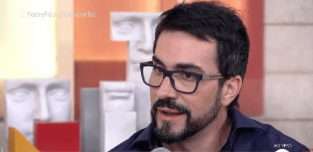 """Fábio de Melo fala sobre """"paixão"""" e """"vida dupla"""" no interior de Santa Catarina antes de se tornar padre - Reprodução/TV Globo"""