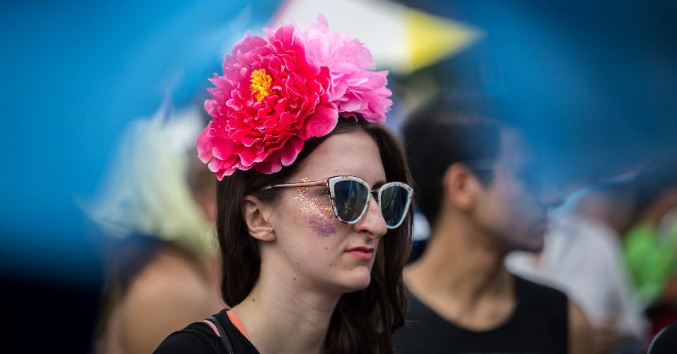 Fãs de rock e Carnaval brincaram Carnaval ao som de Beatles nesta segunda-feira (27)