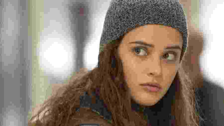 "Hannah (Katherine Langford) em cena de ""13 Reasons Why"", da Netflix - Divulgação/Netflix"
