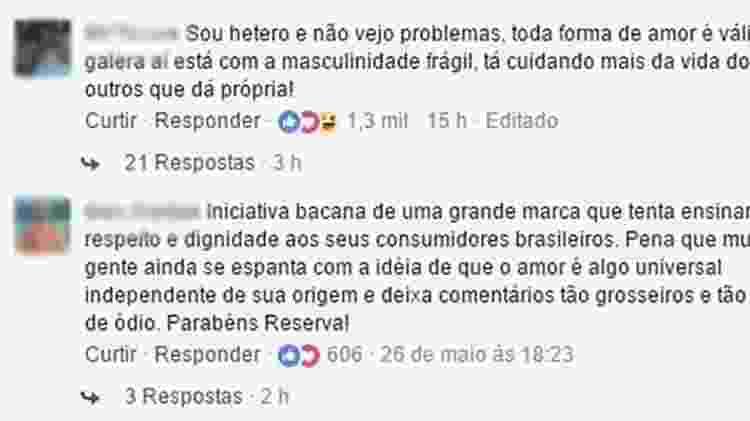 Comentários 1 - Reprodução/Facebook - Reprodução/Facebook