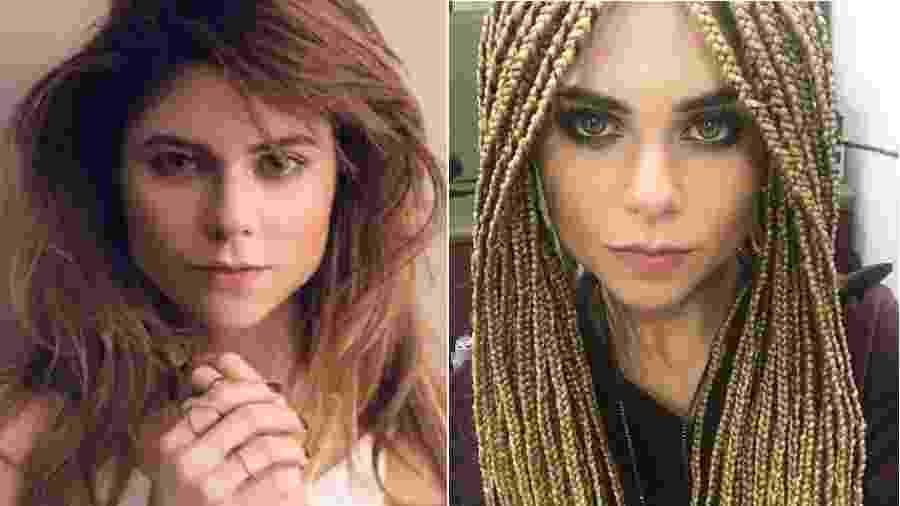 Julianne Trevisol antes e depois de mudança no visual - Reprodução/Instagram