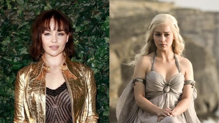 Khaleesi da vida real: a atriz adotou o visual de Dany para valer antes de começar a filmar o último ano da série  - Getty Images/Divulgação