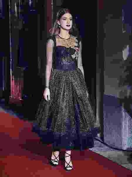 Marina Ruy Barbosa na passarela da Dolce & Gabbana - Reprodução/Instagram