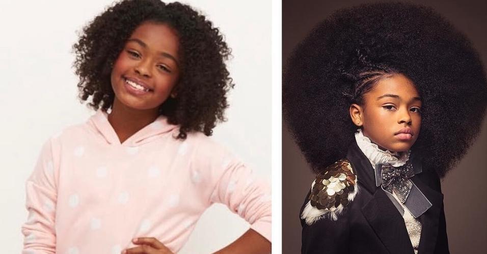 """A ideia é que as crianças se vejam representadas em seus semelhantes e vejam que a versatilidade dos cabelos afro, muitas vezes tidos como """"difíceis"""""""