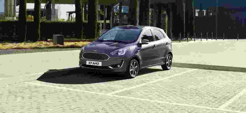 Visualmente Ford Ka  Brasileiro Sera Igual Ao Europeu Imagem Divulgacao