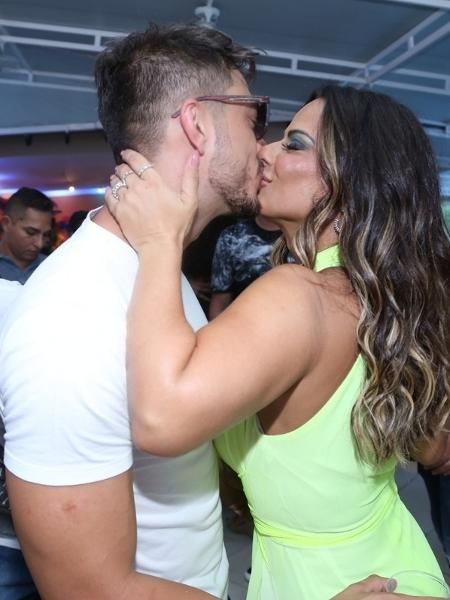 Viviane Araújo e o engenheiro civil Klaus Barros terminaram o namoro - Anderson Borde/Ag.News