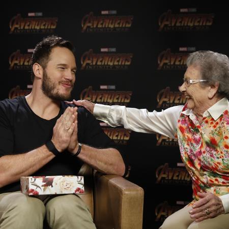Chris Pratt ganha brigadeiros de Palmirinha - Divulgação Marvel/Disney
