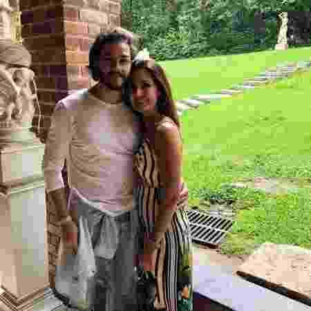 Fátima Bernardes  e Túlio Gadelha estão juntos há cinco meses - Reprodução/Instagram/@fatimabernardes