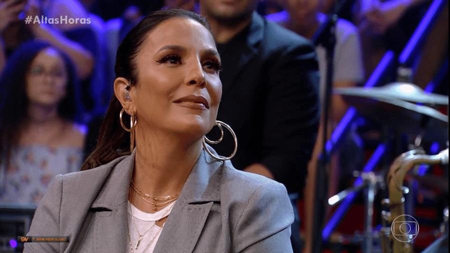 """A cantora Ivete Sangalo participa do """"Altas Horas"""" - Reprodução"""