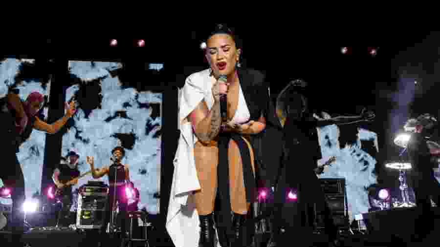 Demi Lovato se apresenta no Rock in Rio Lisboa 2018 - Divulgação