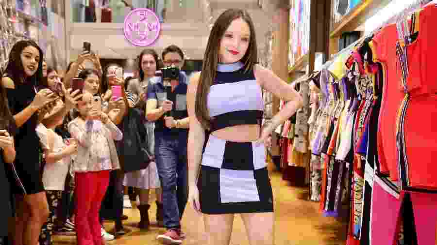 Larissa Manoela prestigia lançamento de sua nova coleção de roupas em São Paulo - Manuela Scarpa e Marcos Ribas/Brazil News