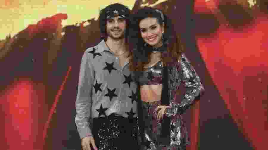 """Na """"Dança dos Famosos"""", Fiuk recebeu 8.5 de um dos jurados - Reprodução/Gshow"""