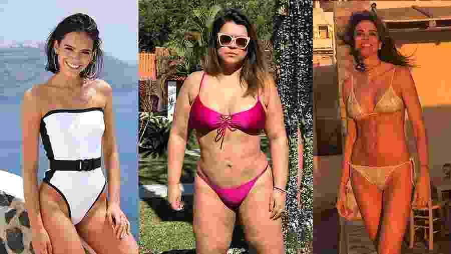 Bruna Marquezine, Preta Gil e Luciana Gimenez - Reprodução/Instagram