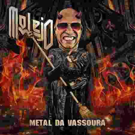Marcelo Vasco criou uma versão metal para uma capa do Molejo - Arquivo Pessoal - Arquivo Pessoal