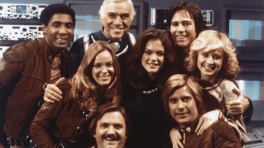 """Elenco de """"Battlestar Galactica"""" - Reprodução"""