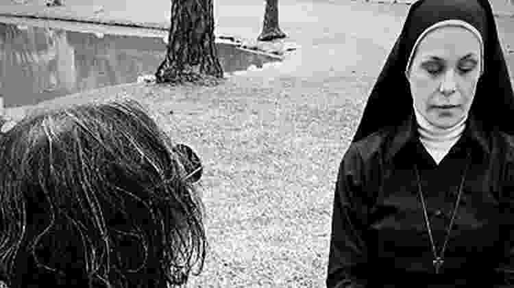 """Carolina Ferraz interpreta uma freira no filme de terror """"A Gruta"""" - Divulgação/Instagram/@agrutafilme - Divulgação/Instagram/@agrutafilme"""