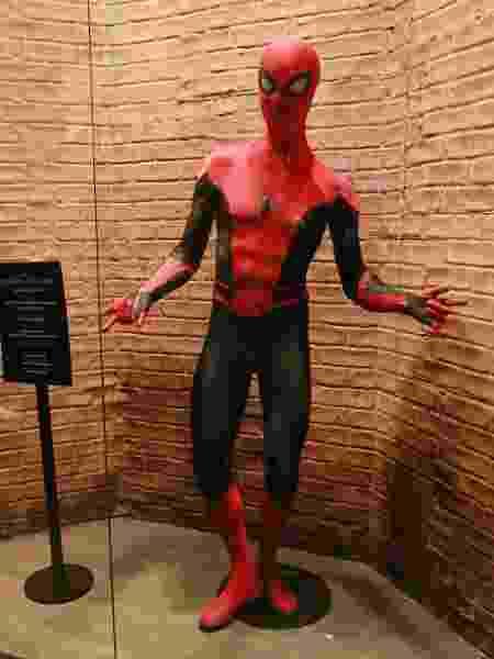 Uniforme do Homem-Aranha na versão tradicional - Iwi Onodera/UOL