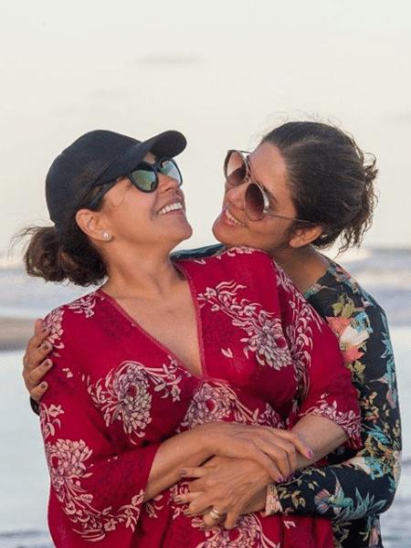 Daniela Mercury e a mulher, Malu Verçosa - Reprodução/Instagram
