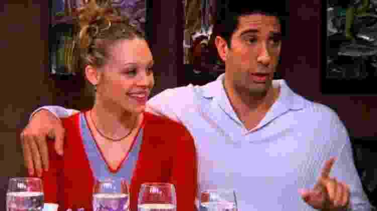 """Ross em cena de """"Friends"""" - Reprodução - Reprodução"""