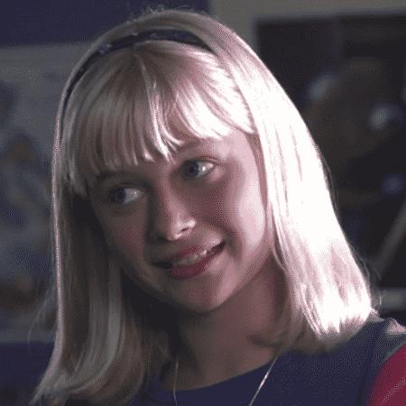 """A atriz Carly Schroeder na série """"Lizzie Mcguire"""" - Reprodução - Reprodução"""