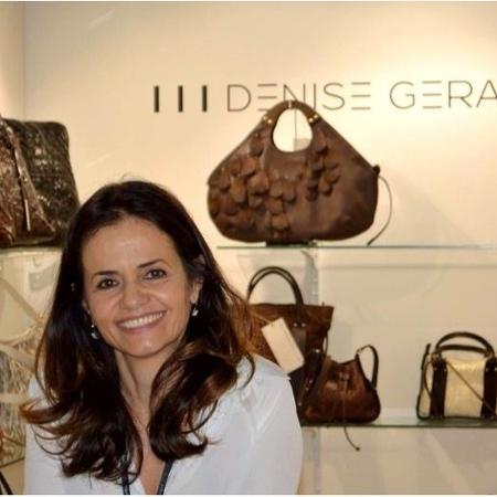 ac45fee0c Após 20 anos de carreira, a química Denise Gerassi resolveu produzir bolsas  de couro sofisticadas Imagem: Divulgação
