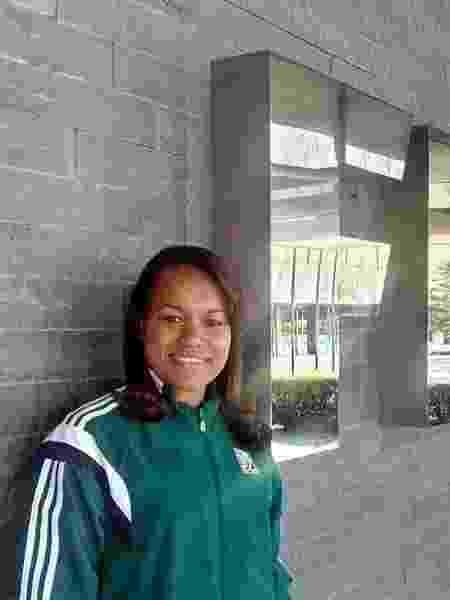 A ex-árbitra Janette Arcanjo - Arquivo pessoal