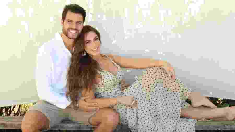 Marcelo Bimbi e Nicole Bahls passaram pelas disputas do reality de casais e levaram mais de R$ 500 mil para casa - Vinny Nunes/Divulgação